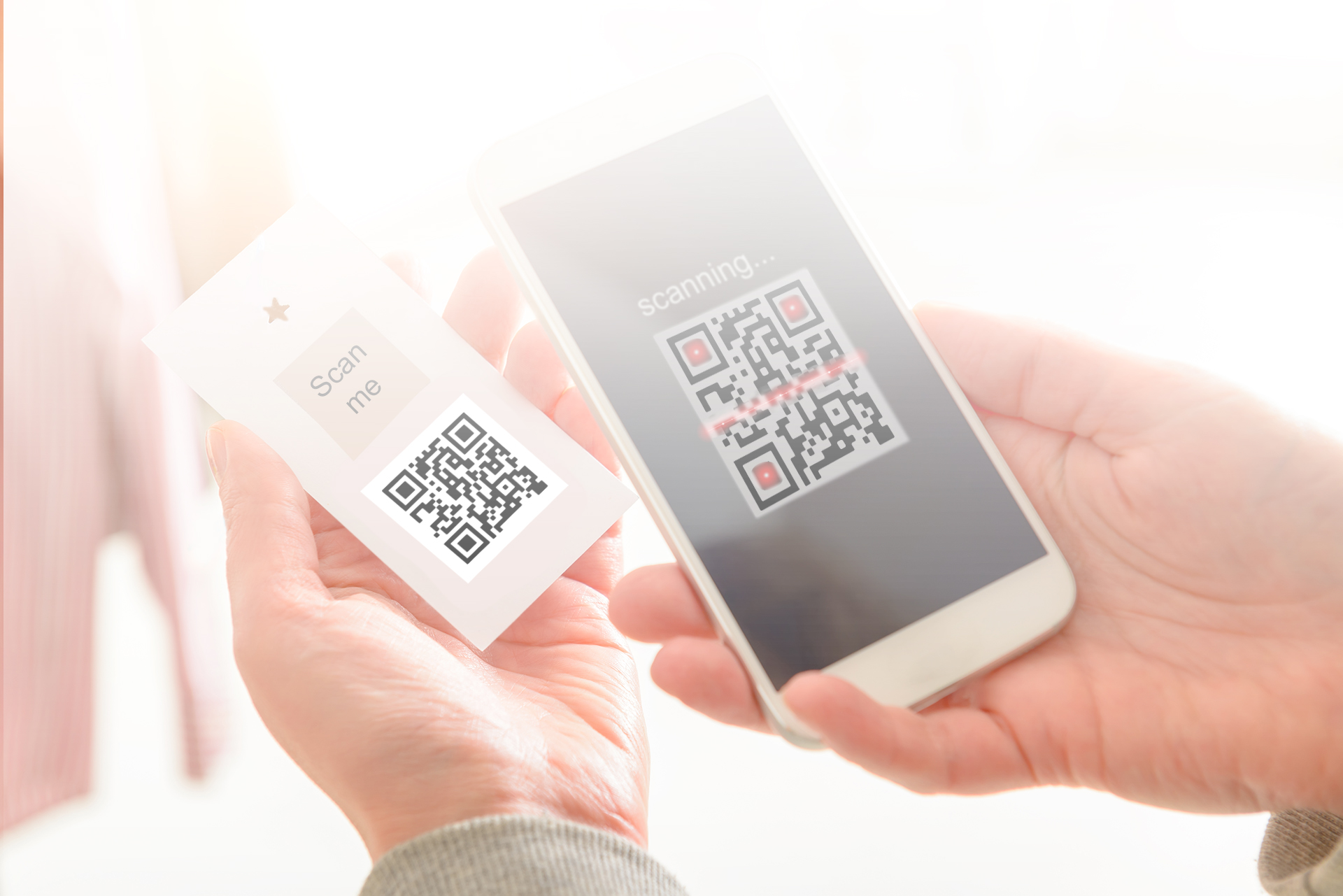 QR Code leading to PFB Main page