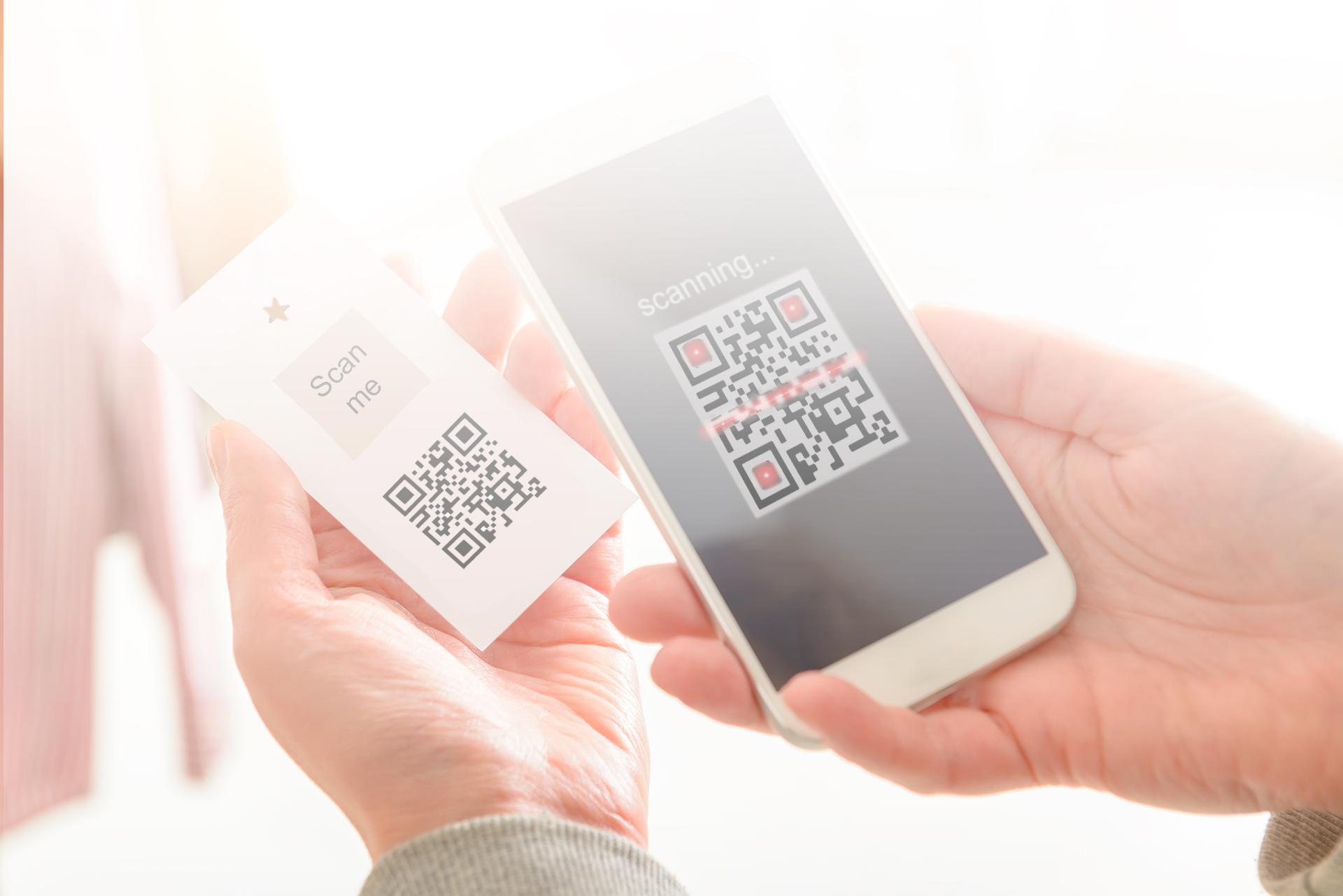 QR Code leading to PFB Solutions