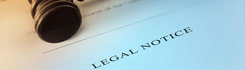 PFB Legal Notice